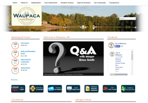city-of-waupaca-website